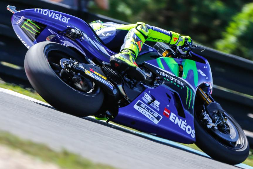 Valentino Rossi, Movistar Yamaha MotoGP, Monster Energy Grand Prix České republiky