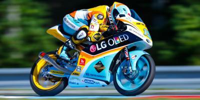Rodrigo décroche la première pole argentine en Moto3™