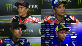 MotoGP™ riders give us feedback on their race results at the #CzechGP.