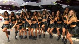 The beautiful paddock girls added some extra glamour to the atmosphere of the #CzechGP.