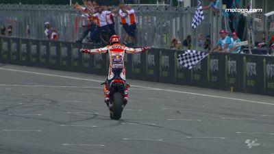 A tactical masterclass!   Extraordinary day & win, Marc Márquez showing