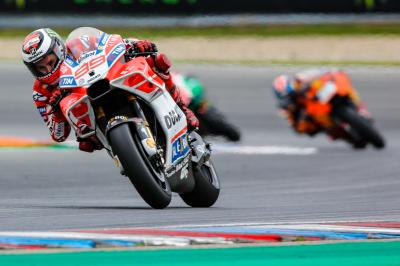 Lorenzo: 'Era un día para ganar en Brno'