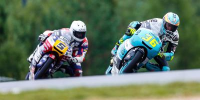 Mir holds firm to beat Fenati at Brno