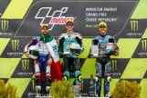 Joan Mir, Romano Fenati, Aron Canet, Monster Energy Grand Prix České republiky