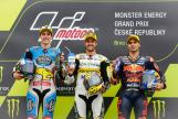 Thomas Luthi, Alex Marquez, Miguel Oliveira, Monster Energy Grand Prix České republiky
