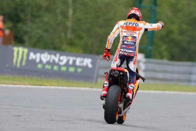 "Marquez: ""I wanted to take a risk"""