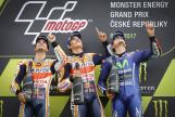 Marc Marquez, Dani Pedrosa, Maverick Vinales, Monster Energy Grand Prix České republiky