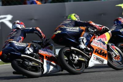 Watch: Red Bull MotoGP Rookies Cup Race 2 from Brno