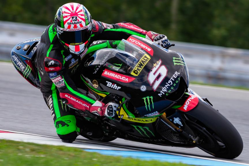 Johann Zarco, Monster Yamaha Tech 3, MotoGP Test, Czech Republic