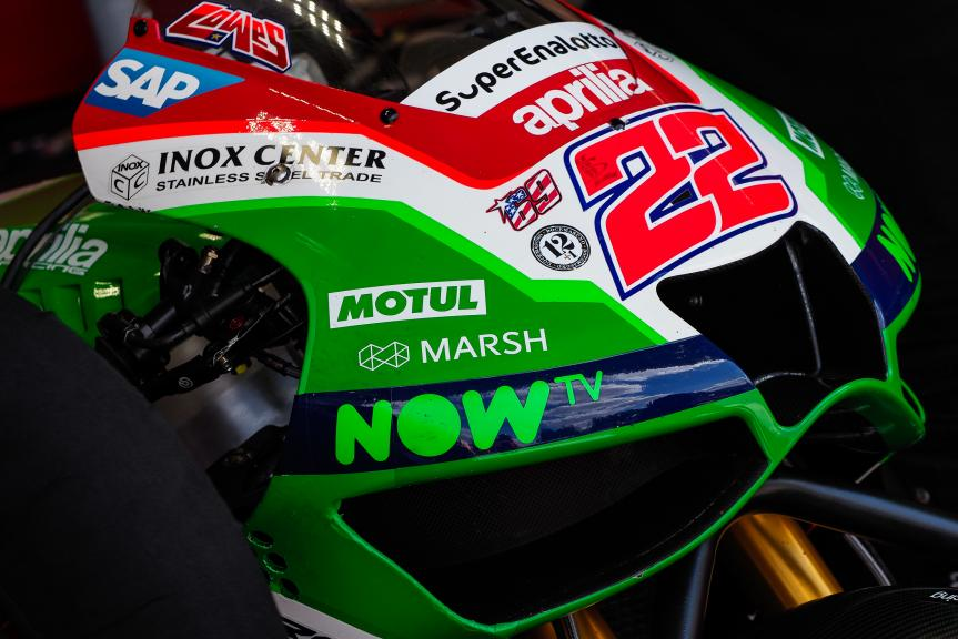 Sam Lowes, Aprilia Racing Team Gresini, MotoGP Test, Czech Republic