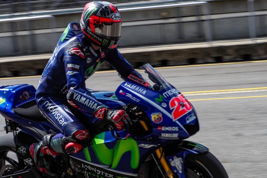 Maverick Vinales, Movistar Yamaha MotoGP, MotoGP Test, Czech Republic