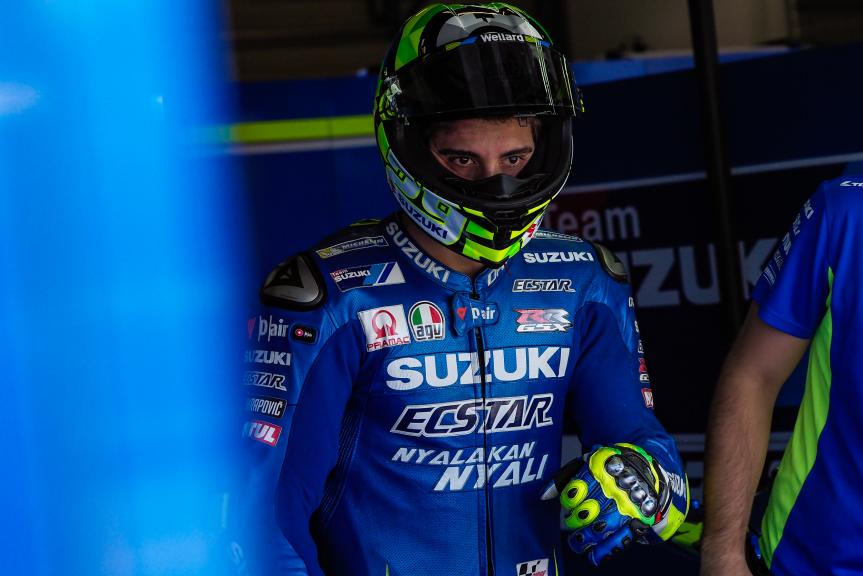 Andrea Iannone, Team Suzuki Ecstar, MotoGP Test, Czech Republic