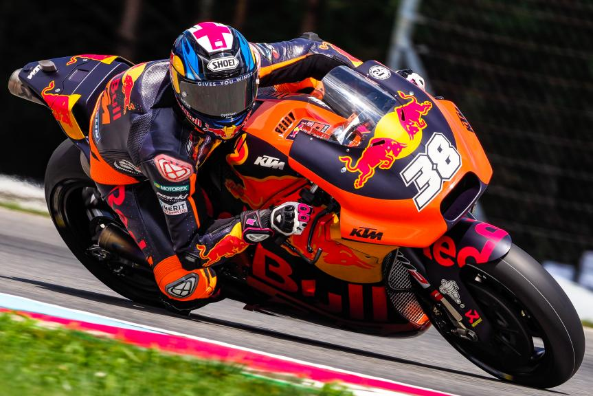 Bradley Smith, Red Bull KTM Factory Racing, MotoGP Test, Czech Republic