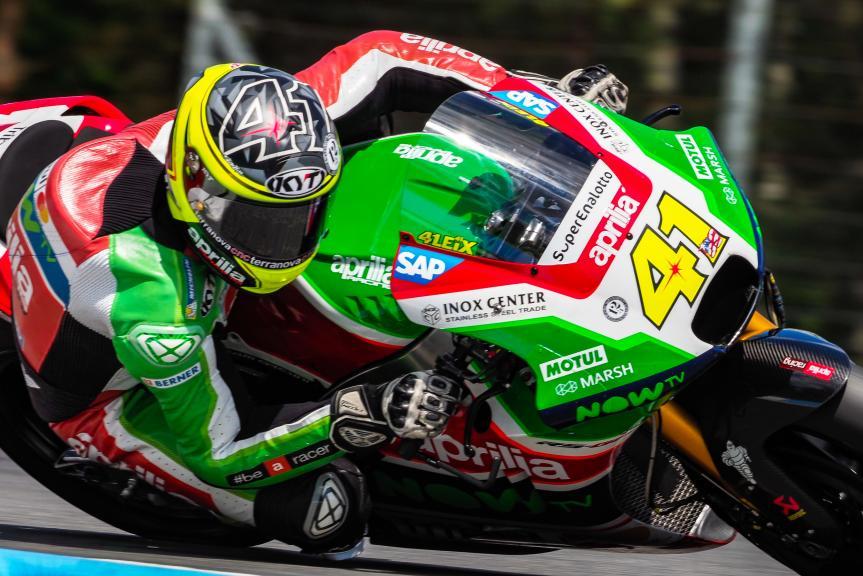 Aleix Espargaro, Aprilia Racing Team Gresini, MotoGP Test, Czech Republi