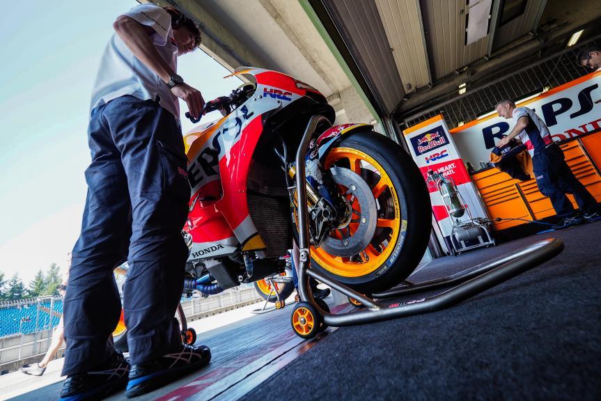 Marc Marquez, Repsol Honda Team, MotoGP Test, Czech Republic