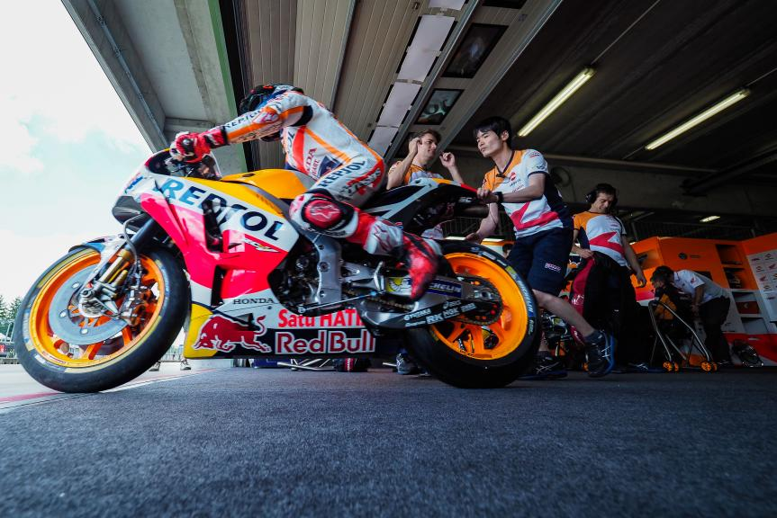 Marc Marquez, Repsol Honda Team, MotoGP Test, Czech Republic