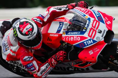 "Lorenzo: ""My feeling with the new fairing is very good"""