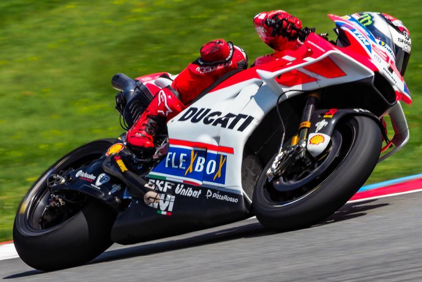 Jorge Lorenzo, Ducati Team, MotoGP Test, Czech Republic