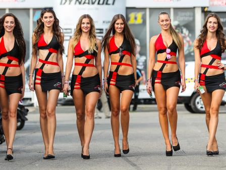 Paddock Girls, Monster Energy Grand Prix České republiky