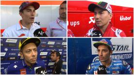 We hear the latest from the MotoGP™ riders after Monday's post-GP test at the Automotodrom Brno