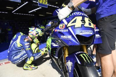 """Rossi: """"Me gusta el nuevo carenado, lo usaremos"""""""