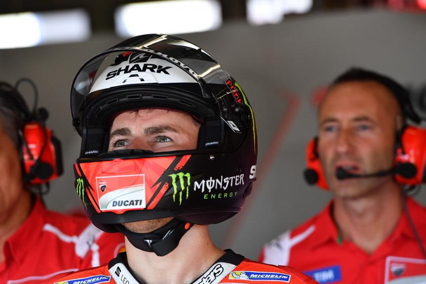 Jorge Lorenzo, Ducati Team, Monster Energy Grand Prix České republiky