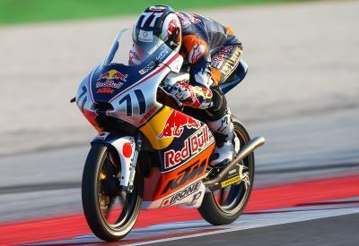 La Red Bull MotoGP Rookies Cup poursuit sa route en Autriche