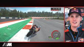 To help you race like the pros with PS4™ at the Red Bull Ring, Austria, Pol Espargaró will show you how it's done on the KTM.