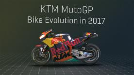 To mark the Austrian brand's home Grand Prix at the Red Bull Ring in Austria, Dorna has prepared a 3D animation explaining the main changes that the KTM RC-16 has undergone in the first half of the year. These evolutions include the fairing, the engine's firing order, the ergonomics, as well as the frame.