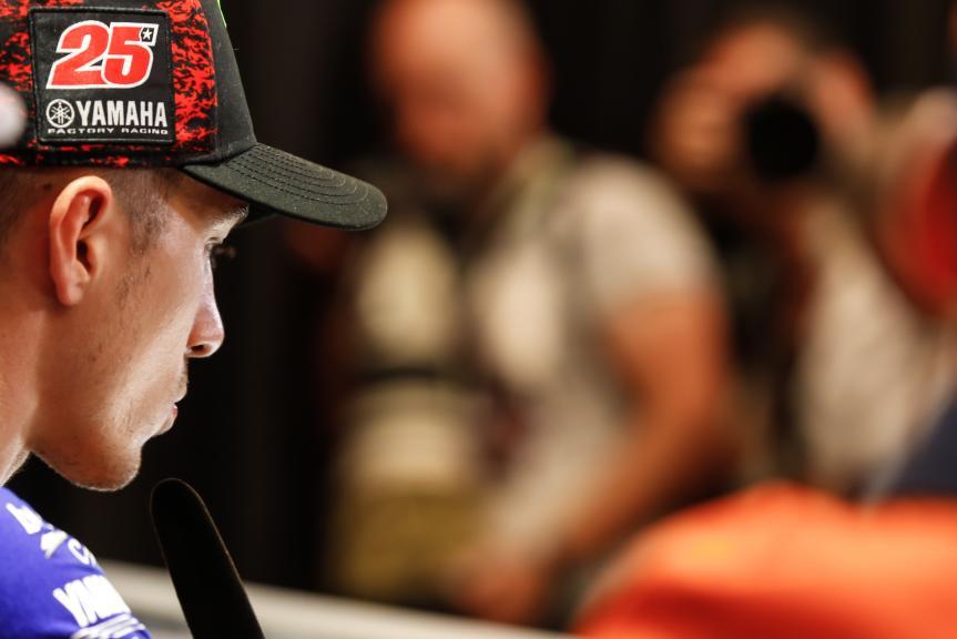 Maverick Vinales, Movistar Yamaha MotoGP, NeroGiardini Motorrad Grand Prix von Österreich