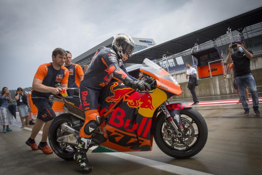 Loris Capirossi in KTM