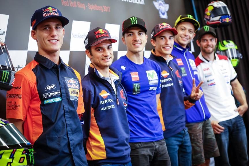 Press-Conference, NeroGiardini Motorrad Grand Prix von Österreich