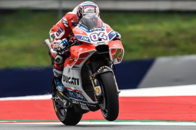Dovizioso: 'We confirmed that the new fairing works well'