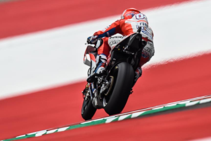 Andrea Dovizioso, Ducati Team, NeroGiardini Motorrad Grand Prix von Österreich
