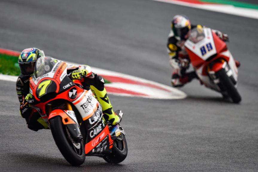 Lorenzo Baldassari, Forward Racing Team, NeroGiardini Motorrad Grand Prix von Österreich