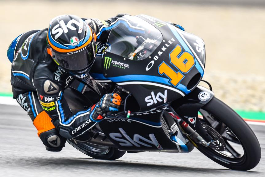 Andrea Migno, Sky Racing Team VR46, NeroGiardini Motorrad Grand Prix von Österreich
