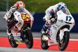 John Mcphee, British Talent Team, Tatsuki Suzuki, SIC58 Squadra Corse, NeroGiardini Motorrad Grand Prix von Österreich