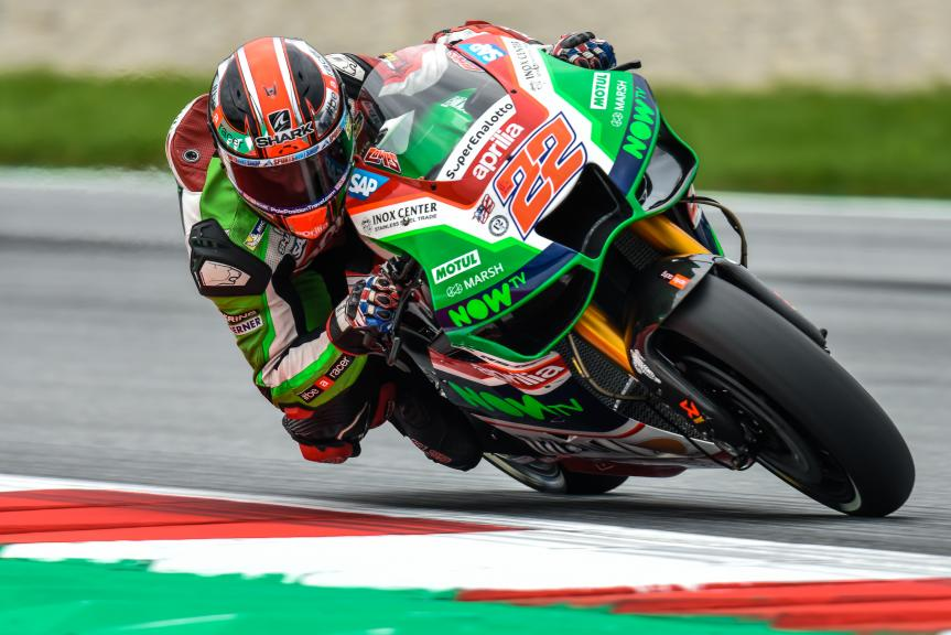 Sam Lowes, Aprilia Racing Team Gresini, NeroGiardini Motorrad Grand Prix von Österreich