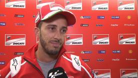 The Italian rider was the fastest during Friday's Free Practice Sessions