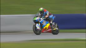 Franco Morbidelli concluded Friday as the fastest rider in Moto2™, finishing ahead of Luthi and Oliveira