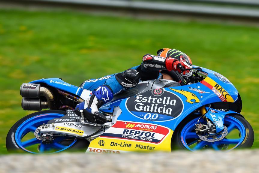 Aron Canet, Estrella Galicia 0,0, NeroGiardini Motorrad Grand Prix von Österreich