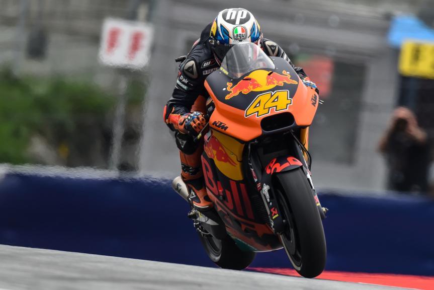 Pol Espargaro, Red Bull KTM Factory Racing, NeroGiardini Motorrad Grand Prix von Österreich