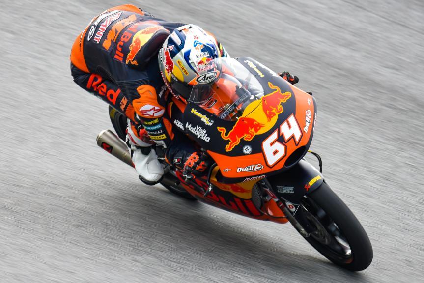 Bo Bendsneyder, Red Bull KTM Ajo, NeroGiardini Motorrad Grand Prix von Österreich