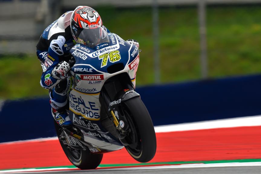 Loris Baz, Reale Avintia Racing, NeroGiardini Motorrad Grand Prix von Österreich