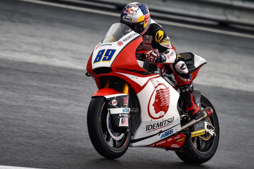 Khairul Idham Pawi, Idemitsu Honda Team Asia, NeroGiardini Motorrad Grand Prix von Österreich