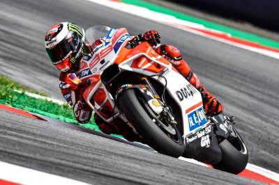 Lorenzo: 'No marcamos la diferencia como el año pasado'