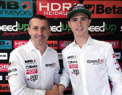 Danny Kent signs with Speed Up from 2018