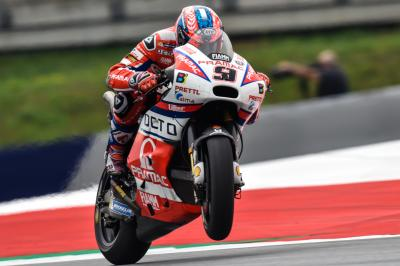 Petrucci and Pedrosa move through from Q1