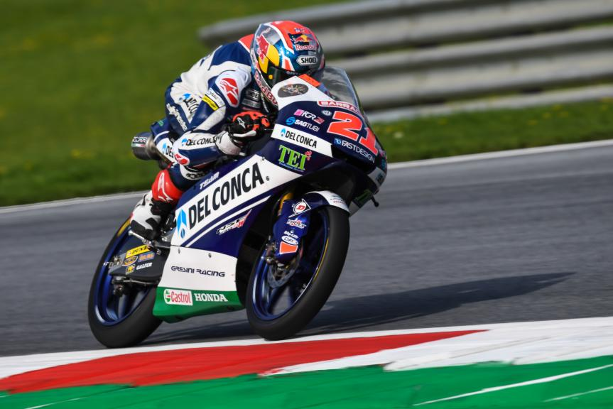 Fabio Di Giannantonio, Del Conca Gresini Moto3, NeroGiardini Motorrad Grand Prix von Österreich