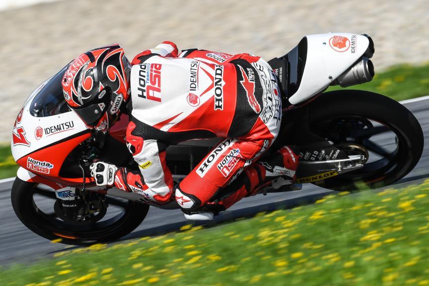 Kaito Toba, Honda Team Asia, NeroGiardini Motorrad Grand Prix von Österreich